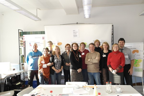 Gruppenfoto - Hessisches Landesmuseum Darmstadt mit Workshop am 13. November 2013